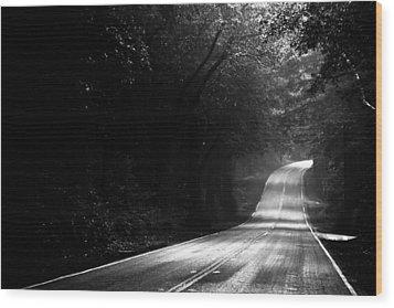 Mountain Road II Wood Print