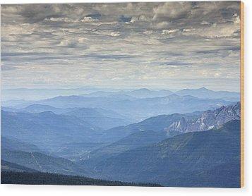 Mountain View, Usa Wood Print by Bob Gibbons