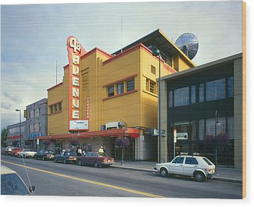 Movie Theaters, Fourth Avenue Theatre Wood Print by Everett