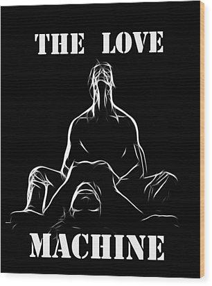 Mr Lover Lover Wood Print by Steve K
