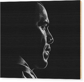 Mr. President Wood Print by Jeff Stroman