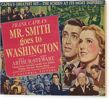 Mr. Smith Goes To Washington, James Wood Print by Everett