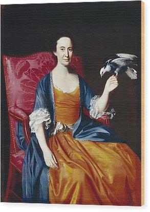Mrs. Benjamin Hallowell Wood Print by John Singleton Copley