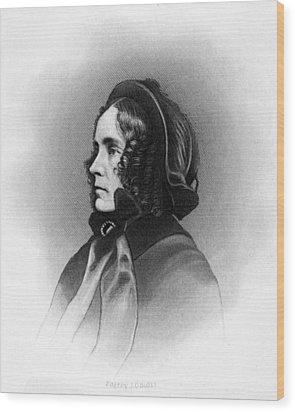 Mrs. Franklin Pierce, Engraved By Jc Wood Print by Everett