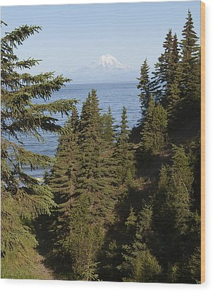 Mt Redoubt Wood Print