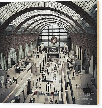 Musee D'orsay II Wood Print by RicharD Murphy