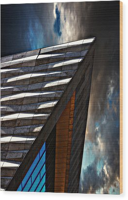 Museum Of Liverpool Wood Print by Meirion Matthias