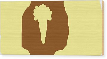 Mushroom Cloud Or Organic Parsnip The Choice Is Yours Wood Print