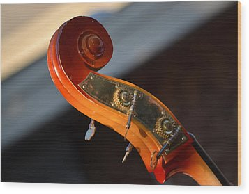 Wood Print featuring the photograph Music by Rima Biswas