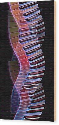 Musical Dna Wood Print by Bill Cannon