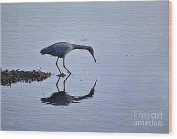 My Blue Reflection Wood Print by Diego Re