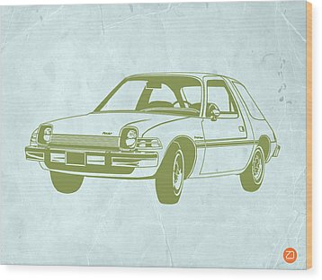My Favorite Car  Wood Print by Naxart Studio
