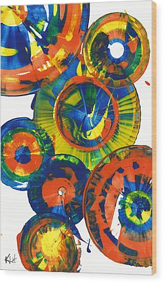 My Magical Spheres    859.121811 Wood Print