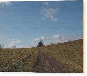 My Road Wood Print by Robert Margetts