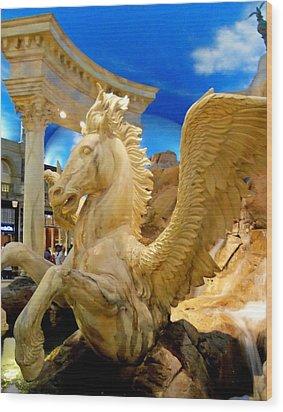 My Vegas Caesars 13 Wood Print by Randall Weidner