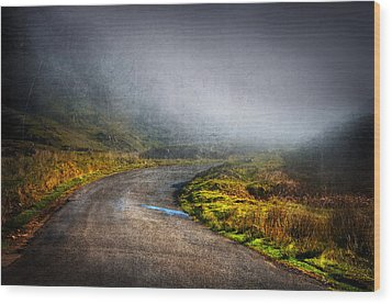 Mystery Road  Wood Print by Svetlana Sewell