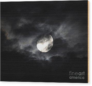 Mystic Moon Wood Print by Al Powell Photography USA