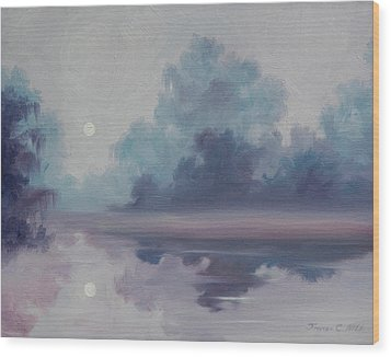 Mystic Moonlight Wood Print by James Christopher Hill