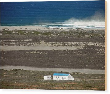 Wood Print featuring the photograph Namaqualand Farm by Werner Lehmann