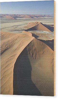 Namib Desert Wood Print by Unknown