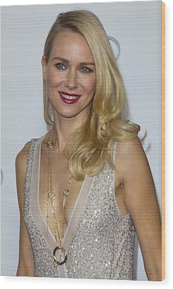 Naomi Watts At Arrivals For Afi Fest Wood Print by Everett