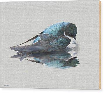 Narcissus Wood Print by Ron Jones