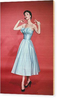 Natalie Wood, 1956 Wood Print by Everett