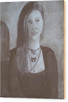 Natasha Wood Print by Bonita Bruch