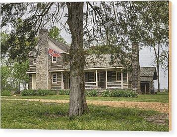 Nathan Bedford Forrest Boyhood Home 4 Wood Print by Douglas Barnett