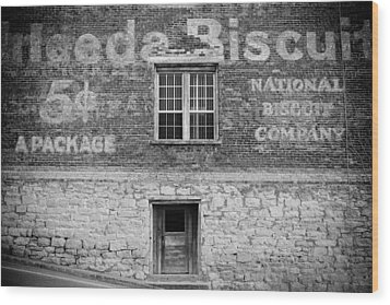 National Biscuit Company Wood Print by Paul Bartoszek