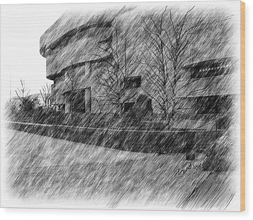 National Museum Of The American Indian Wood Print by Yiries Saad