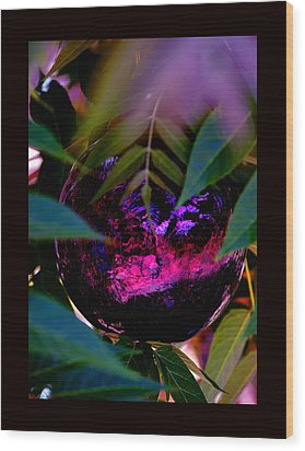 Wood Print featuring the photograph Natural Transcendence by Susanne Still