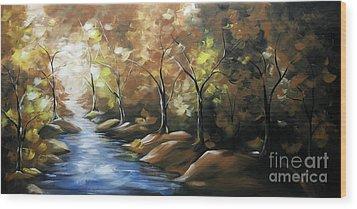 Nature Beauty 3 Wood Print by Uma Devi