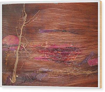 Nature's Glory  Wood Print by Basant Soni