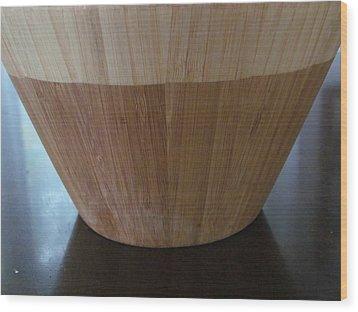 Navajo Bowl Two Wood Print by Tina M Wenger