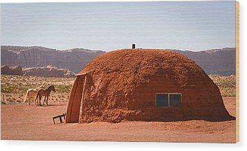 Navajo Home Wood Print