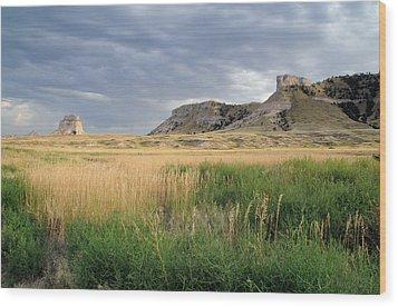 Wood Print featuring the photograph Nebraska by Geraldine Alexander
