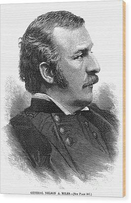 Nelson Appleton Miles Wood Print by Granger