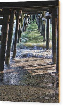 Neptune's Stairway Wood Print