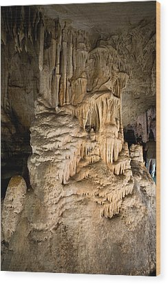 Nerja Caves In Spain Wood Print by Artur Bogacki