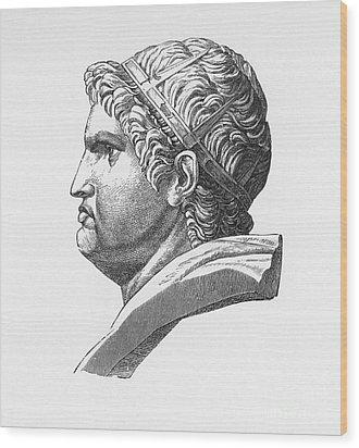 Nero (37-68 A.d.) Wood Print by Granger