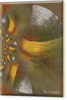 Wood Print featuring the mixed media Nest Of Hope  by Ray Tapajna
