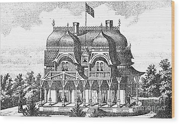 New Jersey: House, C1876 Wood Print by Granger