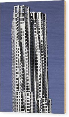 New York By Gerhy Wood Print