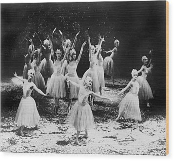 New York City Ballet Performing The Wood Print by Everett