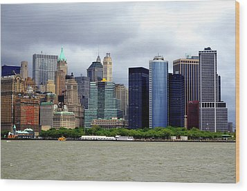 Wood Print featuring the photograph New York City by Pravine Chester