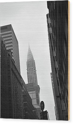 New York City Wood Print by Thank you for choosing my work.