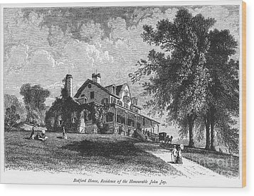 New York State: Mansion Wood Print by Granger