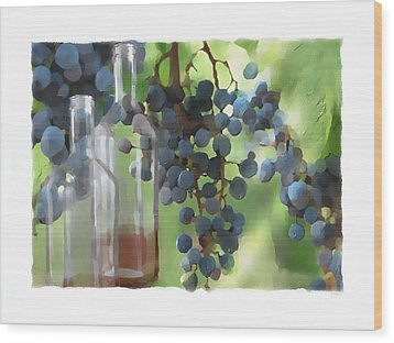 Niagara Peninsula Wine Country Wood Print by Bob Salo