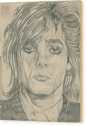Nick Rhodes Wood Print by Allen Walters